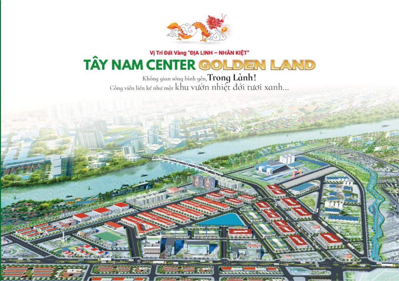 Dự án KDC Tây Nam Center Golden Land